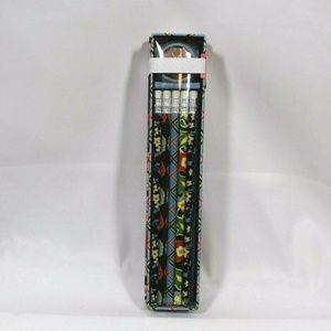 Vera Bradley VERSAILLES Pencil Box 10 Pencils New